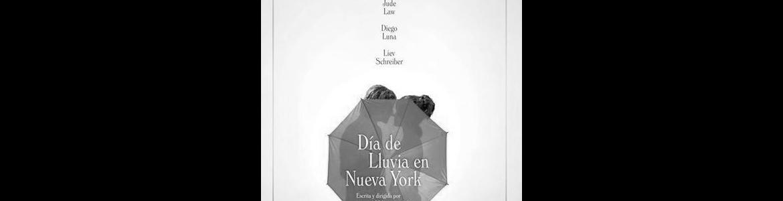 imagen del cartel de la película en la que se ve a una pareja detrás de un paraguas