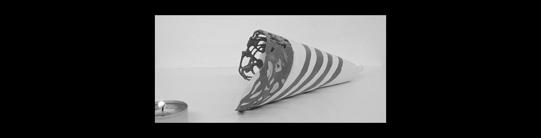 imagen de una pieza de cerámica de la exposición Eclectico