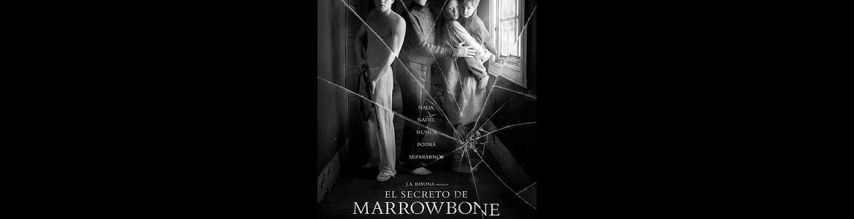 Imagen del cartel El secreto de Mowrrobone en la que se ven cuatro actores