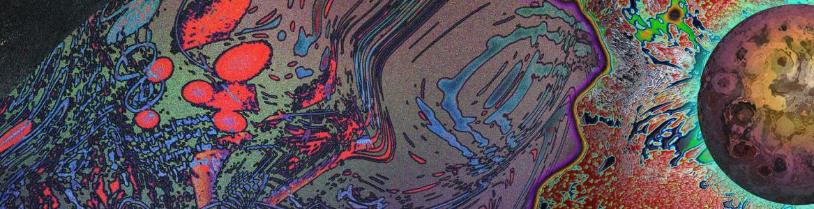Manchas abstractas de colores