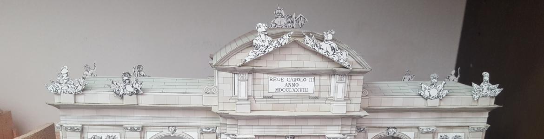 Puerta de Alcalá en papel