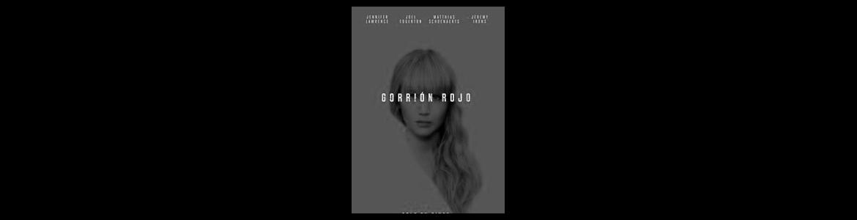 Imagen del cartel de la película Gorrión Rojo en la que se ve a la protagonista