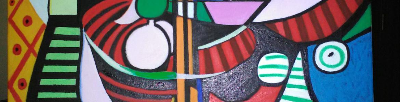 imagen de una de las pinturas de Francisco González Triviño