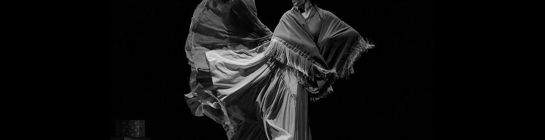 imagen del espectáculo Nora en la que se ve bailando a una de sus bailarinas
