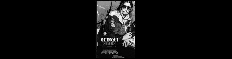 imagen del cartel de la película Quinqui Stars en la que se ve uno de sus protagonistas