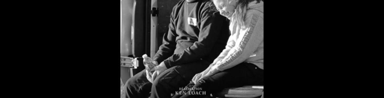 imagen del cartel de la película en la que se ve a una pareja sentada