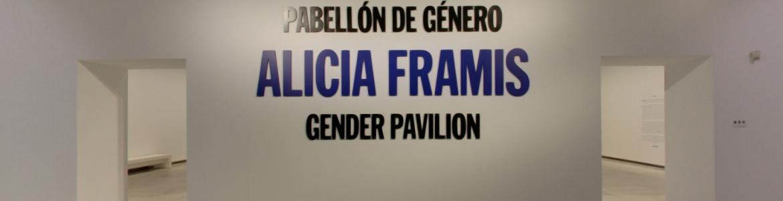 """Visita virtual a """"Alicia Framis. Pabellón de género"""""""