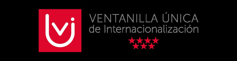Logotipo con las letras vui