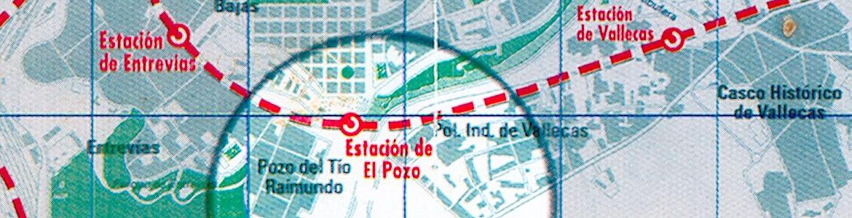 Situación estación de El Pozo