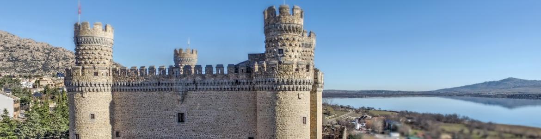 Castillo de Manzanares aereo