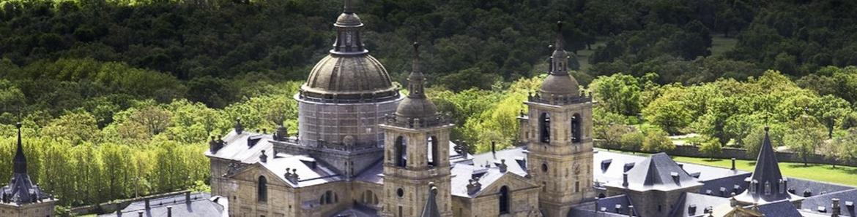 Vista Monasterio San Lorenzo de El Escorial
