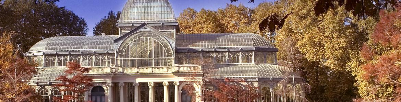 Palacio de Crital. Parque de El Retiro de Madrid