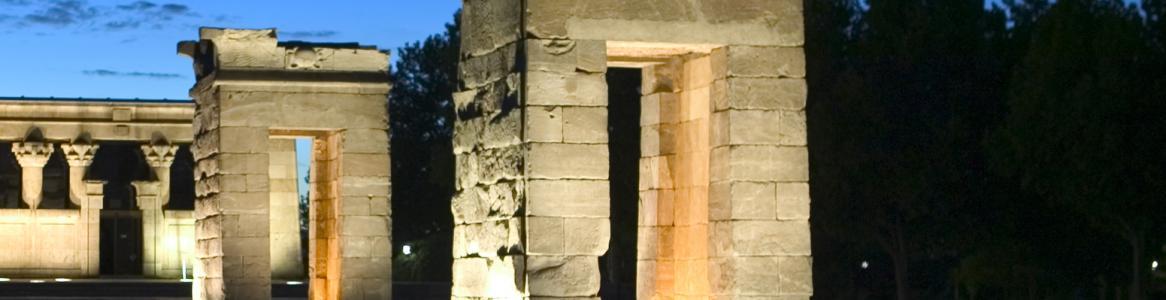 Templo egipcio de Debod. Madrid