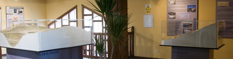 Interior museo Mancomunidad Embalse del Atazar