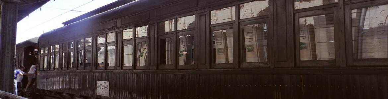 Tren histórico de la Fresa.Aranjuez