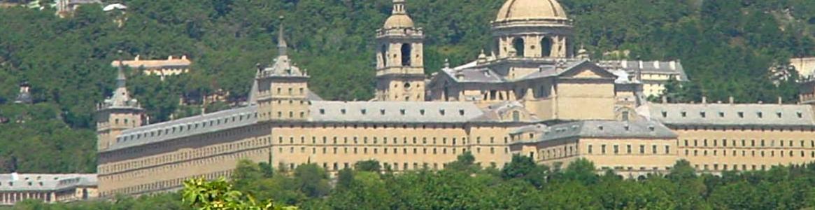 Vista Monasterio y entorno. San Lorenzo de El Escorial