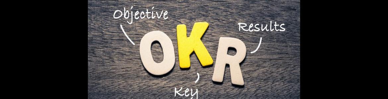 Imagen con tres letras: OKR