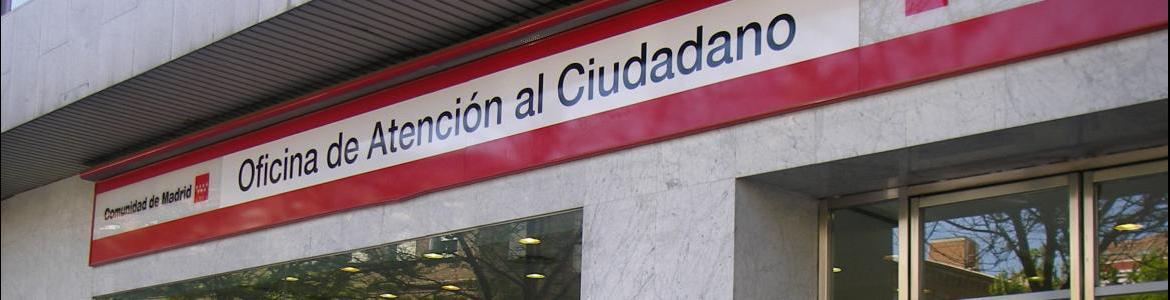 Red de Oficinas de la Comunidad de Madrid