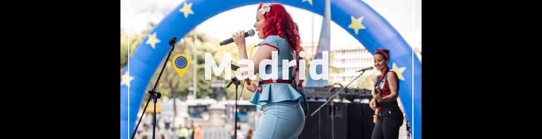 Día de Europa 2021 Madrid