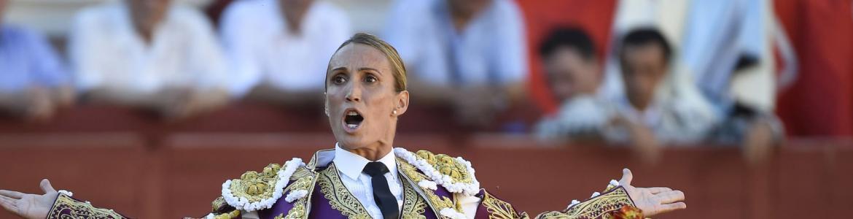 La torera Cristina Sánchez