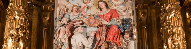 Retablo mayor Convento Trinitarias Descalzas