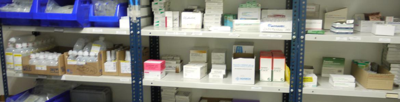 Farmacia de un SUAP del SUMMA 112