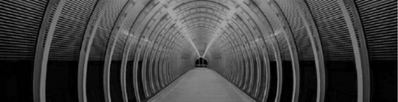 alegoría, imagen de un tunel