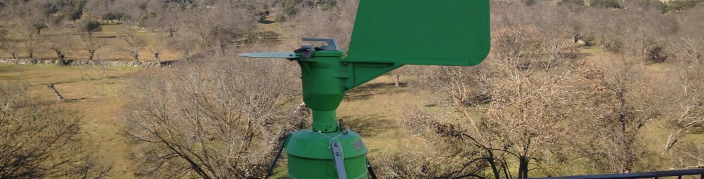 Captador de polen de Collado Villalba