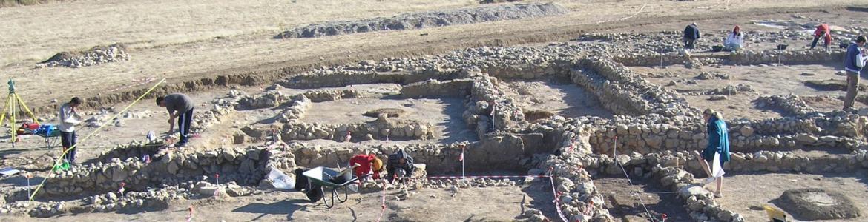 Imagen del asentamiento carpetano de el LLano de la Horca