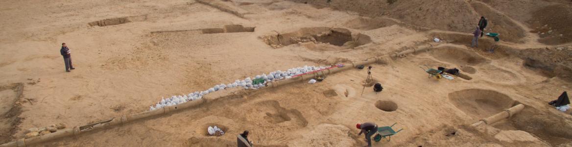 Imagen excavación La Magdalena