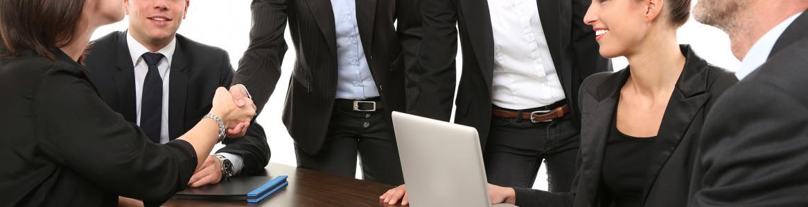 Imagen de reunión de trabajo