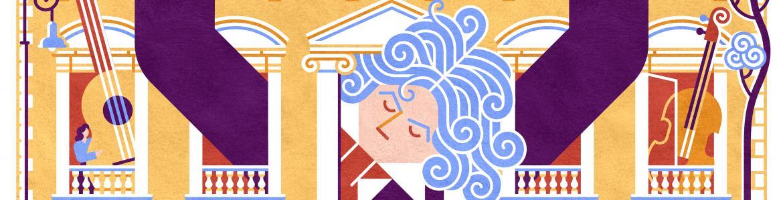 Ilustración de los conciertos homenaje a Beethoven