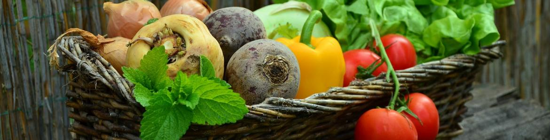 Cesta hortalizas