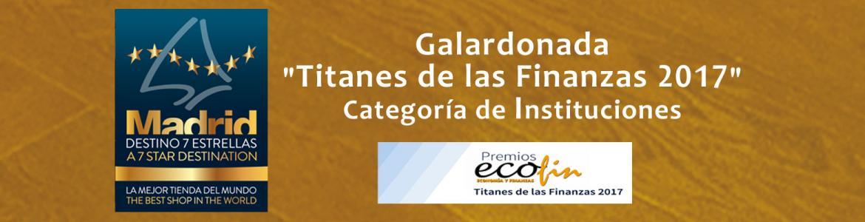 Premio Ecofin 2017 para Campaña Madrid Destino 7 Estrellas