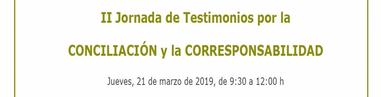 Jornada de Testimonios por la Conciliación y la Corresponsabilidad