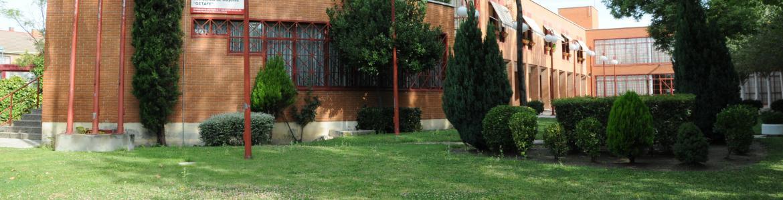 Fachada edificio de la Residencia de Mayores y Centro de Día Getafe