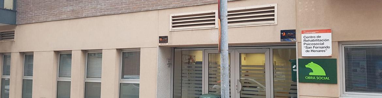 Fachada del Centro de Rehabilitación Psicosocial (CRPS) San Fernando