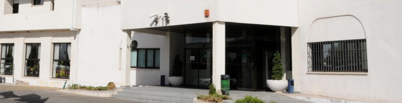 Entrada principal del Centro Alcorcón