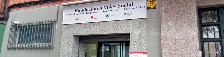 Fachada del Centro de Atención Temprana (CAT) AMÁS Castilla la Vieja