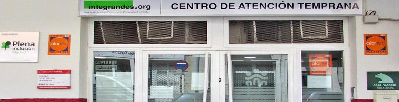Fachada del Centro de Atención Temprana (CAT) INTEGRANDES de Aranjuez