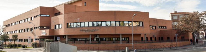 Fachada del centro piloto de salud integral Colmenar Viejo Sur