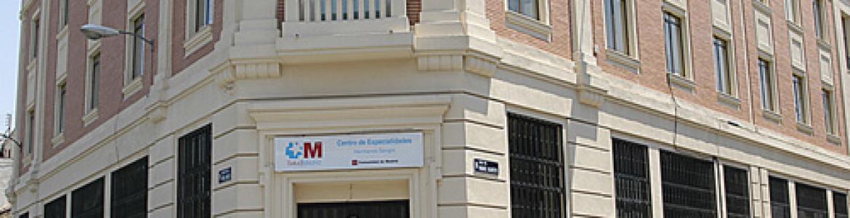 Fachada del Centro de especialiades Hermanos Sangro