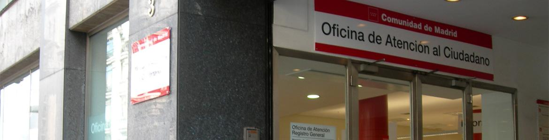 Oficina de Atención al Ciudadano de la Comunidad de Madrid