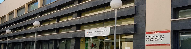 Fachada del Centro de Rehabilitación ADEMM