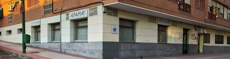 Fachada del Centro Ocupacional APAMA