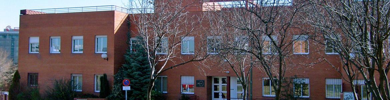 Fachada del Centro Ocupacional APROCOR I Hortaleza