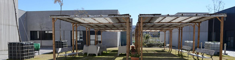 Jardín del Centro Ocupacional APROCOR Frómista - Las Tablas