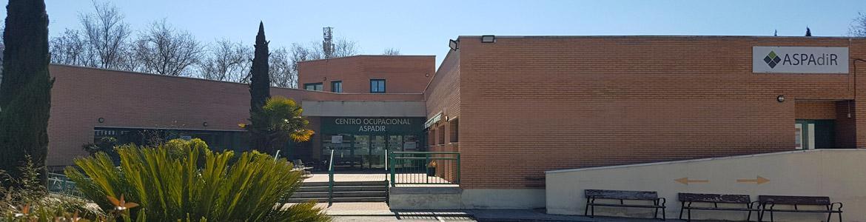 Fachada del Centro Ocupacional ASPADIR
