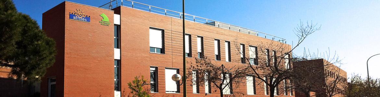 Fachada del Centro Residencial y Centro Ocupacional Gran Vía de Hortaleza - Fundación BETESDA