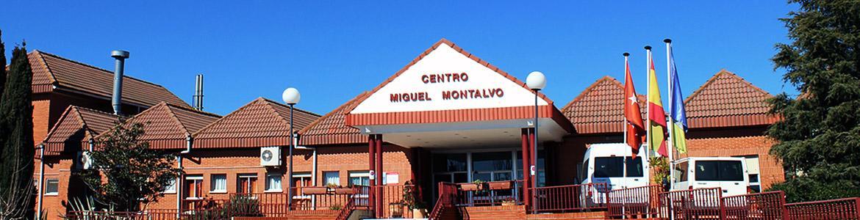 Fachada del Centro Residencial y Centro Ocupacional Miguel Montalvo - Fundación CAMPS